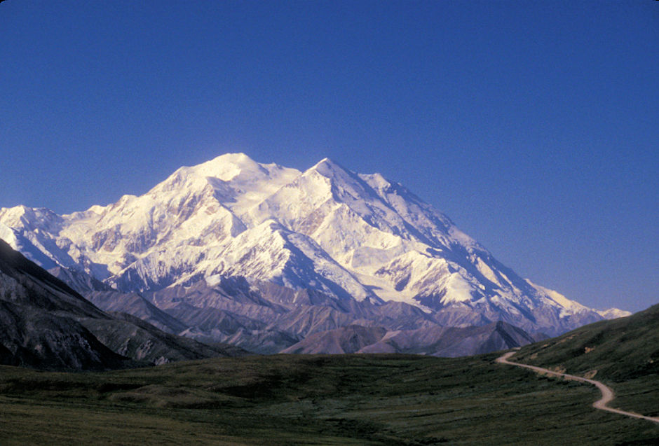Denali (Mt. McKinley) from Park Road