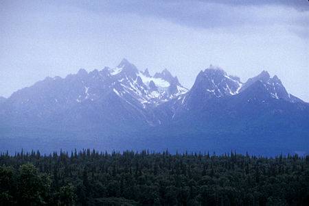 View from Denali State Park, Alaska