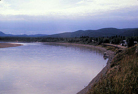 Yukon River at Eagle, Alaska