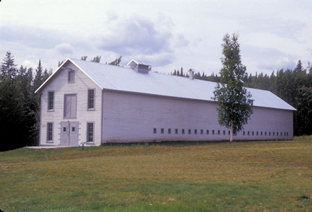Mule Barn, Fort Egbert, Eagle, Alaska