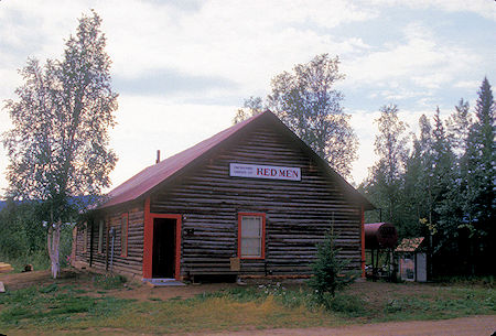 Red Men Hall, Eagle, Alaska