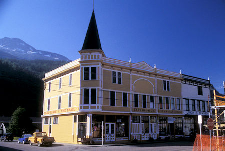 The Trail Inn & Pack Train Saloon, Downtown Skagway, Alaska