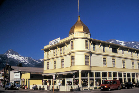 Golden North Hotel, Downtown Skagway, Alaska historic building