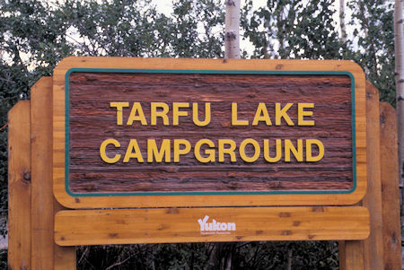 Interesting 'TARFU' name, near Jake's Corner, Yukon Territory