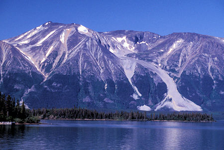 Atlin Mountain, Atlin Lake, British Columbia