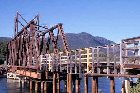 Railroad bridge at Carcross, Yukon Territory