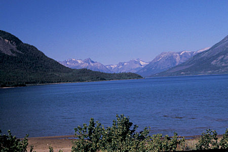 Bennett Lake at Carcross, Yukon Territory