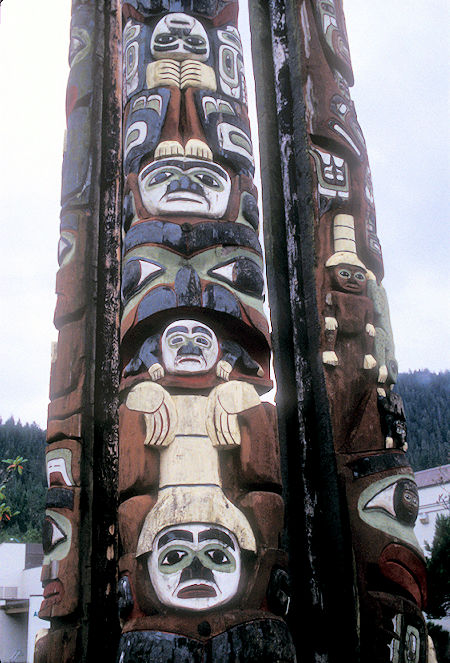 Totem Pole in Prince Rupert, British Columbia