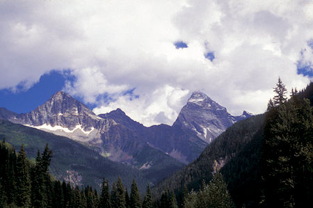 Sir Donald Peak from Rogers Pass area, Canada