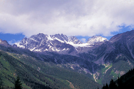 East from Rogers Pass, Canada
