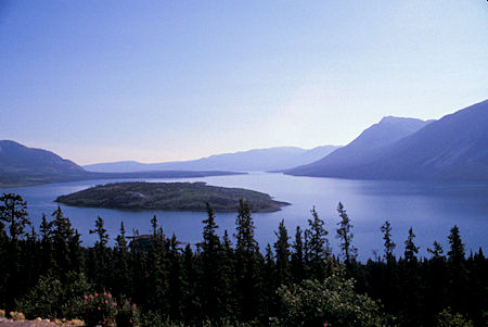 Bove Island on Windy Arm of Tagish Lake, Yukon Territory