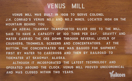 Venus Mill sign