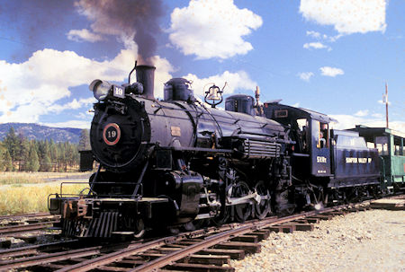 Sumpter Valley Narrow Guage Railroad - 1996