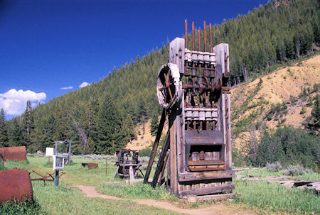 Five Stamp Mill, Custer City, Idaho