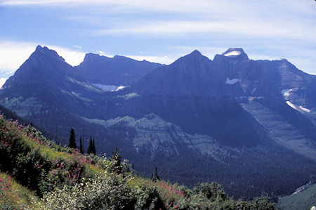 Mt. Oberlin, Going To Sun Highway, Glacier National Park