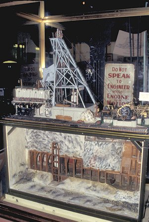Model of a Mine, World Museum of Mining, Butte, Montana