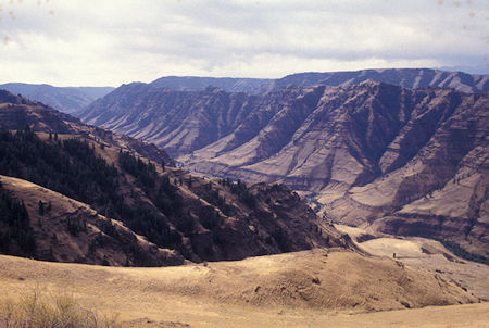 Imnaha River Valley from road to Hat Point, Hells Canyon National Recreation Area, Oregon