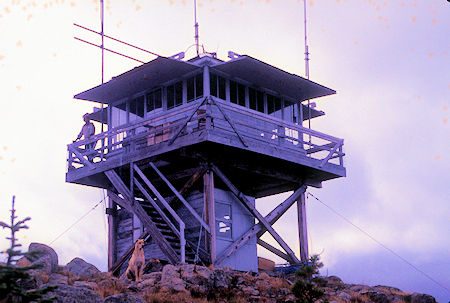 Lightning Bill & Lookout Turk await new visitors at Goat Peak Lookout
