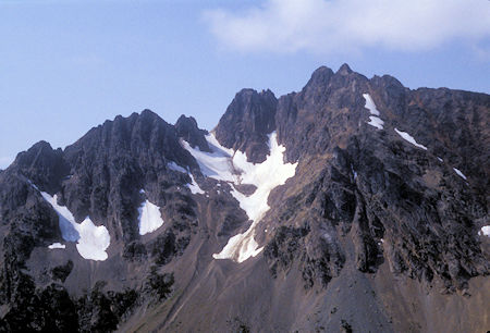 Azurite Peak from Grasshopper Pass