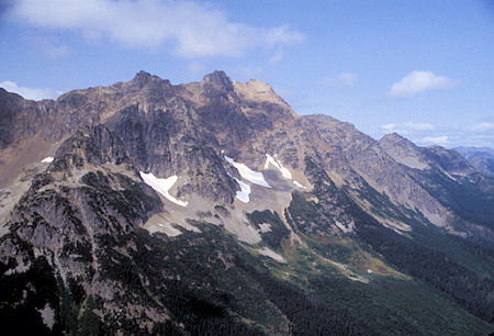 Unidentified Peak from Grasshopper Pass