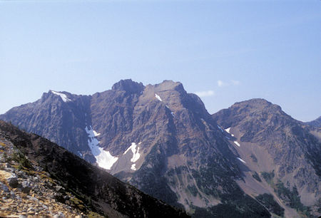 Mount Ballard from Grasshopper Pass