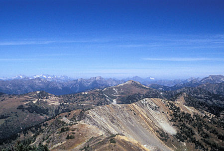 View from 7,440' Slate Peak near Harts Pass, Washington