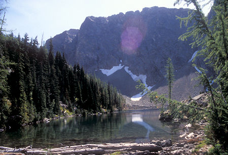Blue Lake outlet, North Cascades Highway