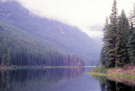 Black Lake, Pasayten Wilderness, north of Winthrop, Washington
