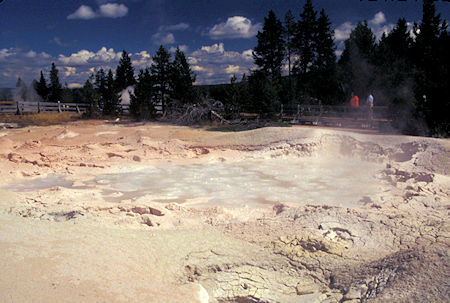 Fountain Paint Pots, Lower Geyser Basin, Yellowstone National Park