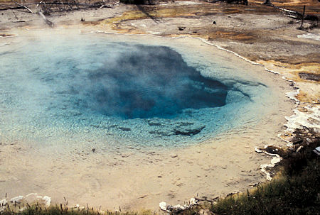 Silex Spring, Lower Geyser Basin, Yellowstone National Park