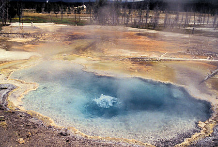 Firehole Spring, Firehole Lake Drive, Yellowstone National Park